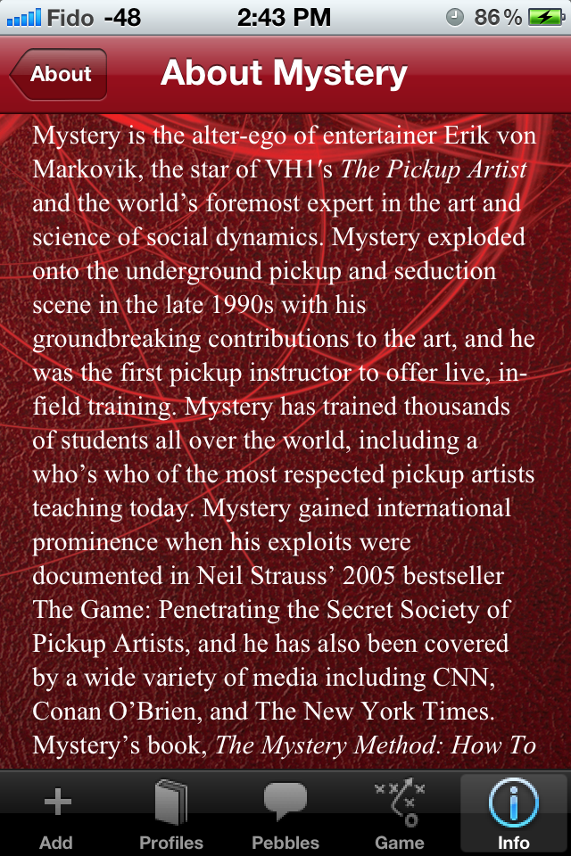 the game penetrating the secret society of pickup artists pdf